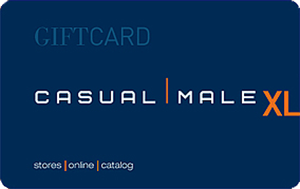 Casual Male Gift Card