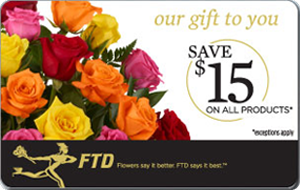 FTD Promotional Gift Card