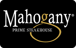 Mahogany Prime Steakhouse Gift Card