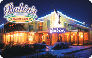 Babin's Seafood House Gift Card
