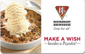 BJs Restaurants Gift Card
