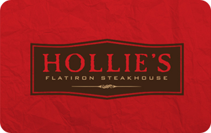 Hollie's Flatiron Steakhouse Gift Card