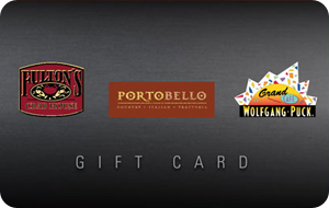Wolfgang Puck Grand Cafe Gift Card
