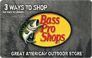$100 Bass Pro Shops eGift Card + $20 Door Dash Gift Card Free