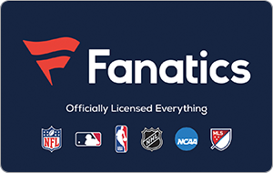 $50 Fanatics Gift Card