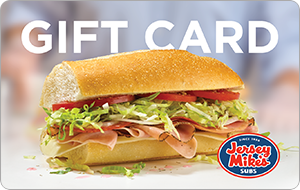 Buy a $25 Jersey Mike's Subs eGift Card