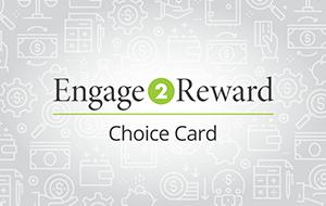 Engage2Reward Choice Card