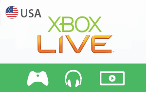 Xbox Live USA - 1 Month