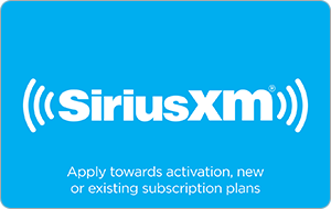 Buy SiriusXM Gift Cards with Skrill