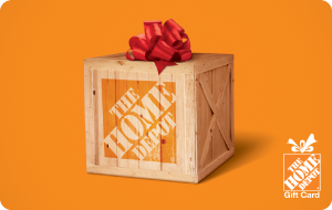 $110 Home Depot Gift Card