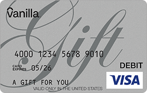 Vanilla® eGift Visa® Virtual Account