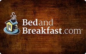 BedandBreakfast.com Gift Card