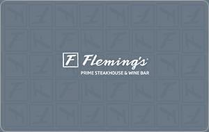 Fleming's Prime Steakhouse & Wine Bar Gift Card