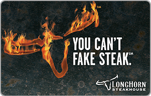 Longhorn Steakhouse eGift Cards - Food & Restaurants | eGifter