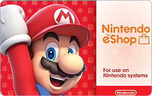 Nintendo eShop Digital Cards Gift Card
