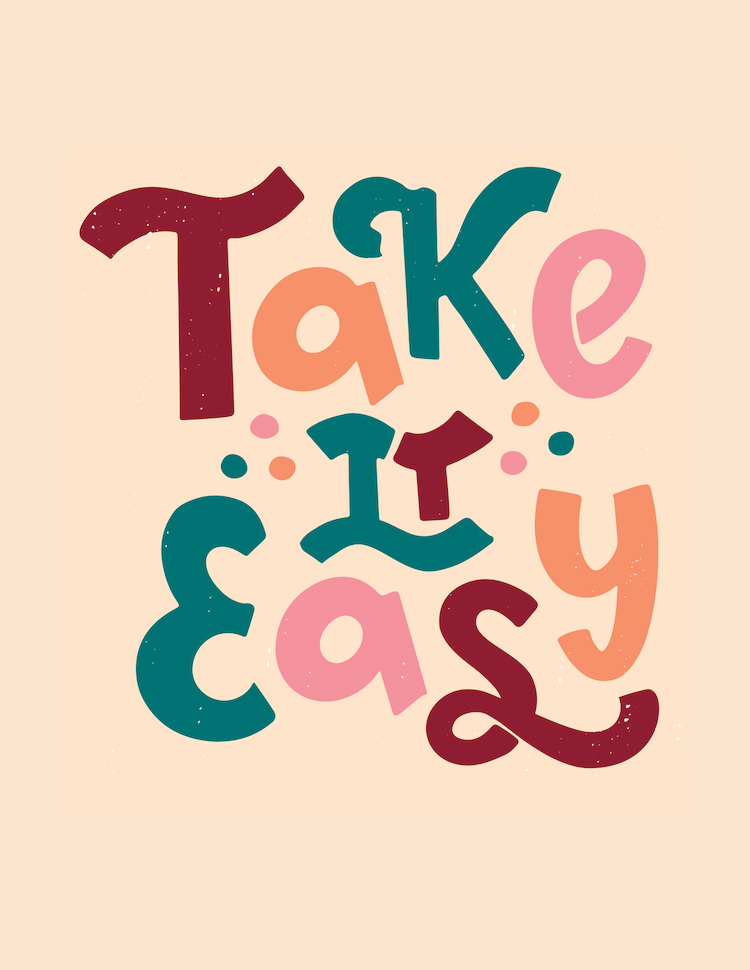 Greeting_Just Because - Take it Easy